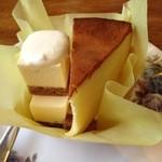 ふじわら - ダブルチーズケーキ