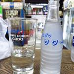 浅見本店 - 酎ハイレモン(焼酎半分)230円