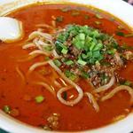 百香亭 - スープの上には油の層
