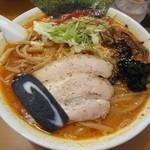 麺人 しょう太郎丸 - すっごい辛いラーメン(赤大盛 750円+100円