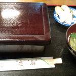 笹船 - うな重 2000円