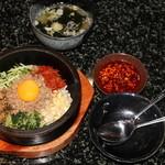 あみやき亭 - 料理写真:石焼ビビンバ