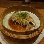 施家菜 - セット蒸し魚(高知産太刀魚)魚の鮮度も脂ののりも良かった。
