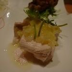施家菜 - 蒸し鳥(ネギ油が美味しかった)