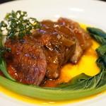 TANTO屋 - メインのビーフステーキ・柔らかくていい肉でした