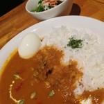 道草屋 - チキンカレー600円