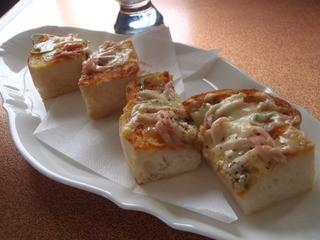 香湯館 - ピザトーストセット ピザトースト