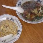 Ponyuu - チャーハンとワンタンスープ