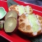 ぼんぐう・kurobuTa - 蓮根のそら豆真丈