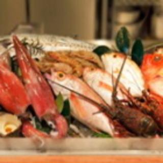 新鮮な魚介をご提供します。