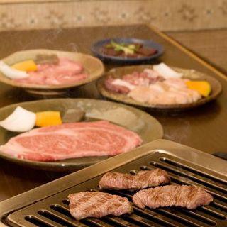 【リーズナブルにこだわりのお肉を堪能】2,500円コース