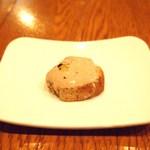 ラ・マンチーナ - 前菜:白レバーのペースト