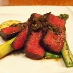 ラ・マンチーナ - 料理写真:牛ふきのとうソース