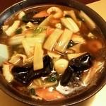 食事処 旬野肴 - 料理写真:五目あんかけラーメン 903円