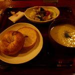 i-cafe 妙真寺 - ベーグルランチ