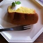 ハコノカフェ - かぼちゃのシフォン