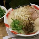 19722766 - もやしラーメン(730円)+味玉(100円)