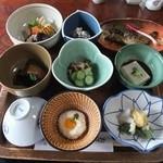 19723736 - 山菜料理(石楠花)