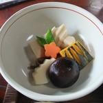 19723741 - 山菜料理(石楠花・煮合せ)