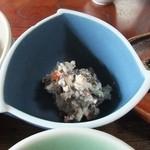 19723744 - 山菜料理(石楠花・白和え)