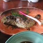 19723747 - 山菜料理(石楠花・あまご甘露煮)