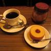 コーヒーロッジ ダンテ - 料理写真:珈琲とバウムクーヘン