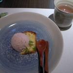 とんかつ食房 厚○ - 5)デザートとハーブティ