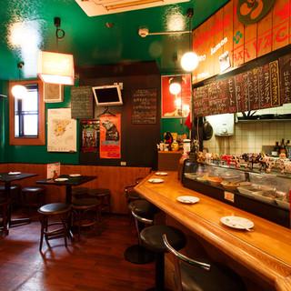 名古屋の中心地栄の酒場