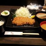 Shunsai - 特選ロースカツ定食2度目になります