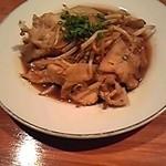 竜たん - 料理写真:竜たん特性豚の生姜焼き。自家製のタレを使っているそうでとてもおいしいです。