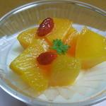 濱うさぎ - 杏仁豆腐