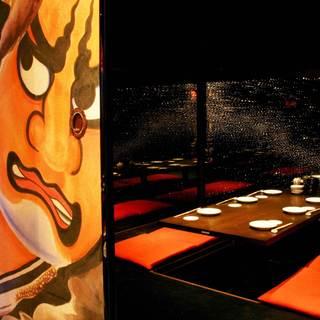 完全個室は6名様用。人気の為ご予約をおすすめしております!