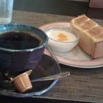 コノハカフェ - H25/2モーニング、シュガートースト