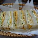 19739842 - 玉子サンドイッチ もり