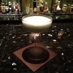 メインバー「キャプテンズバー」 - H25.6 2杯目グラスホッパー