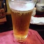 小料理 味菜 - 生ビール