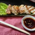 小料理 味菜 - 練馬野菜ぎょうざ500円