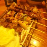 おっちゃんの台所 - 串焼き5本