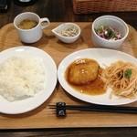 はまさき - 日替りランチ750円ドリンク付き(^^)日により肉、魚のローテーション(^^)