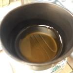 濱うさぎ - 冷たいお茶を頂きました