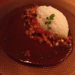 極旨Curry 匠堂 - トマトカレー 冷製ラタトゥイユを添えて