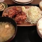 味噌キッチン - ザンギ定食