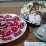 柳の木 - 某新年会は「ぼたん鍋」で