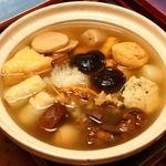 柳の木 - おでん鍋