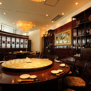 接待や会食にぴったりの個室