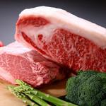 長助 まつえ - A5ランクの牛肉。その時期で良いブランド牛を仕入れております。お尋ねください。