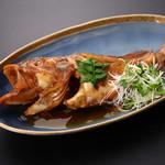 長助 まつえ - カサゴ(小伊津)800~1500円 唐揚げも美味。
