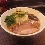 志奈そば 田なか - 料理写真:鯵ニボそば醤油