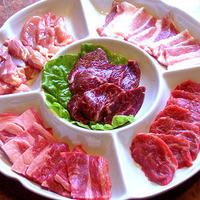 焼肉&酒食楽 凪 - 焼肉メニューでいちばん人気のカルビ全種盛り。ご家族や親しいお仲間同士で食事をされるときにはお奨めです。