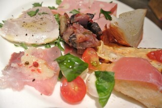 da TAKASHIMA - ランチ イスキアコースの前菜